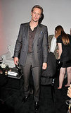 Alexander Skarsgard at the Huge Boss and GQ party in Toronto.