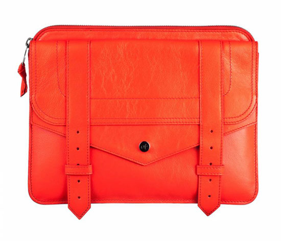 Proenza Schouler iPad case in red ($685)