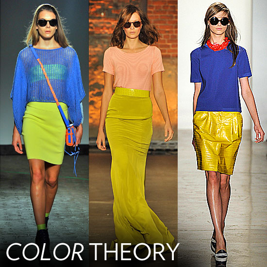 Bold Color Combos We Love From the Spring 2012 Runways