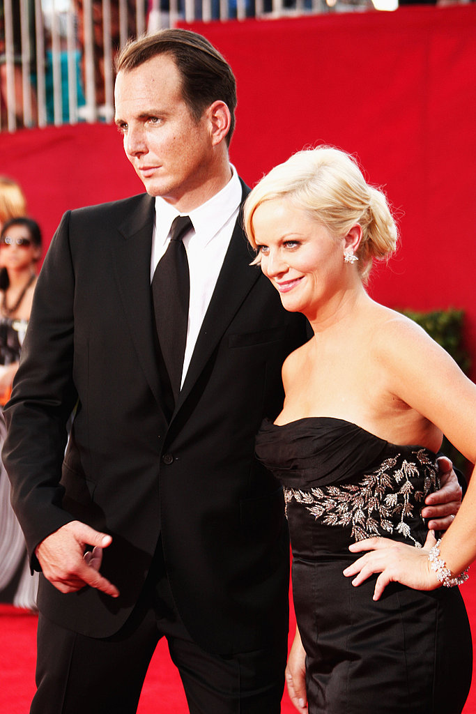 Will Arnett knew his wife, Amy Poehler, had it going on as they arrived at the 2009 show.