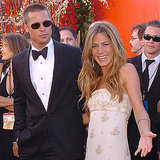 "Brad Pitt and a smiling Jennifer Aniston played the part of ultimate Hollywood ""it"" couple at the 2004 show."