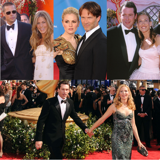 Made For TV: Hot Couples on Past Emmy Red Carpets