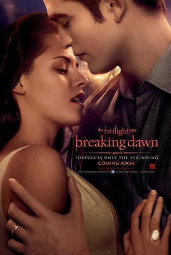 "Edward/Bella ""Breaking Dawn"" Poster + New trailer September 13"