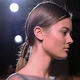 The Wrapped Ponytails at Marchesa