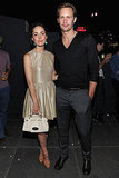 Alexander Skarsgard and Rose Byrne at Mulberry's NYC bash.