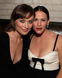Butter costars Olivia Wilde and Jennifer Garner snapped a photo together last night during the Weinstein soiree.