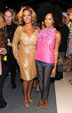 Beyoncé Knowles caught up with her sister, Solange Knowles.