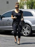 Jessica Alba after baby in LA.