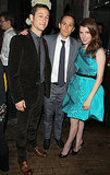 Joseph Gordon-Levitt, Anna Kendrick, and Will Reiser partied at the Toronto Film Festival.