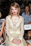 Taylor Swift at NY Fashion Week.