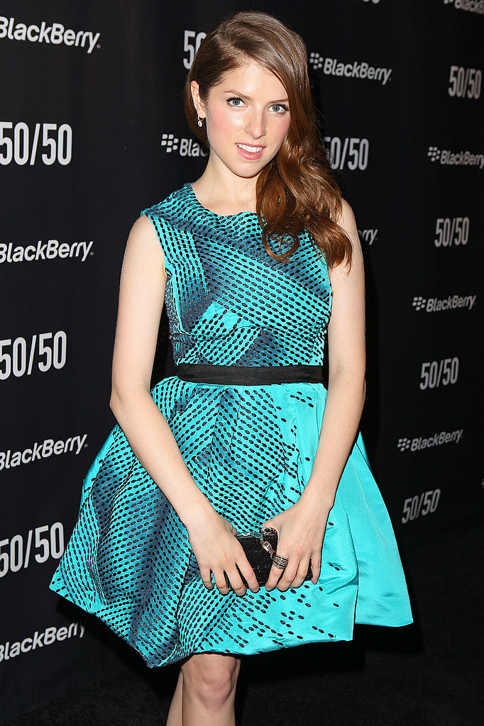 Anna Kendrick at the Toronto Film Festival.