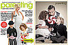 Tori Spelling on Halloween Cover of Parenting Magazine