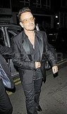 Bono attends Stella McCartney's 40th birthday party.