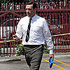 Jon Hamm on Mad Men Set Pictures