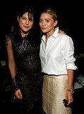 Ashley posed for a photo with Selma Blair