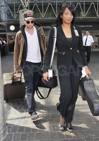 Robert Pattinson Lands in LA Following the Hot New Breaking Dawn Trailer
