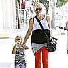 Gwen Stefani and Zuma Rossdale Leaving an LA Mexican Restaurant [Pictures]