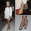 Olivia Palermo Style at New York Fashion Week 2011