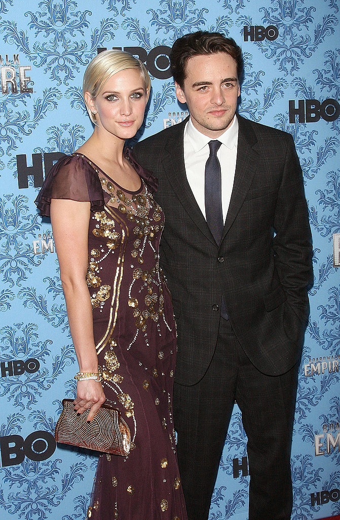 Boardwalk Empire star Vincent Piazza with Ashlee Simpson.