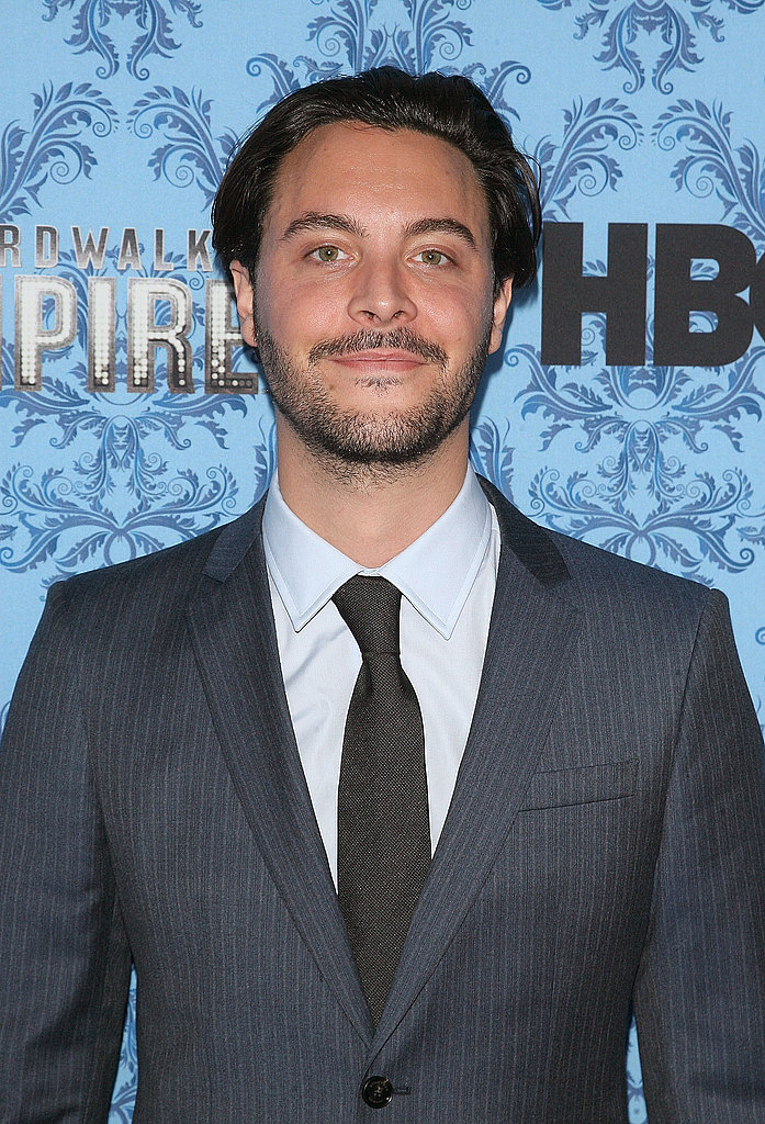 Jack Huston at the Boardwalk Empire party.