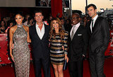 Steve towered over his X Factor costars.