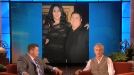 Cher Defends Chaz Bono From the Haters on Ellen