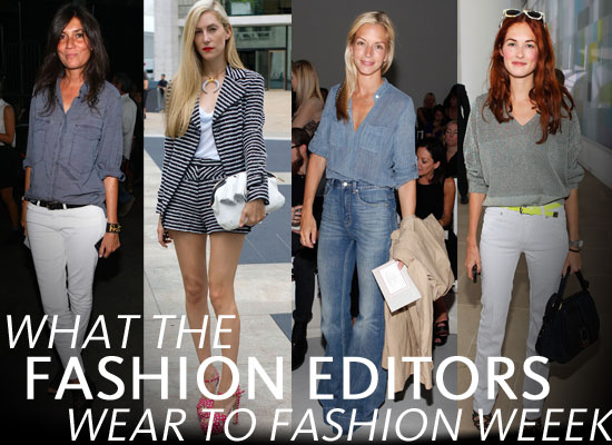 Pictures Of The Fashion Editors On The Front Row At 2011 New York Fashion Week See What The