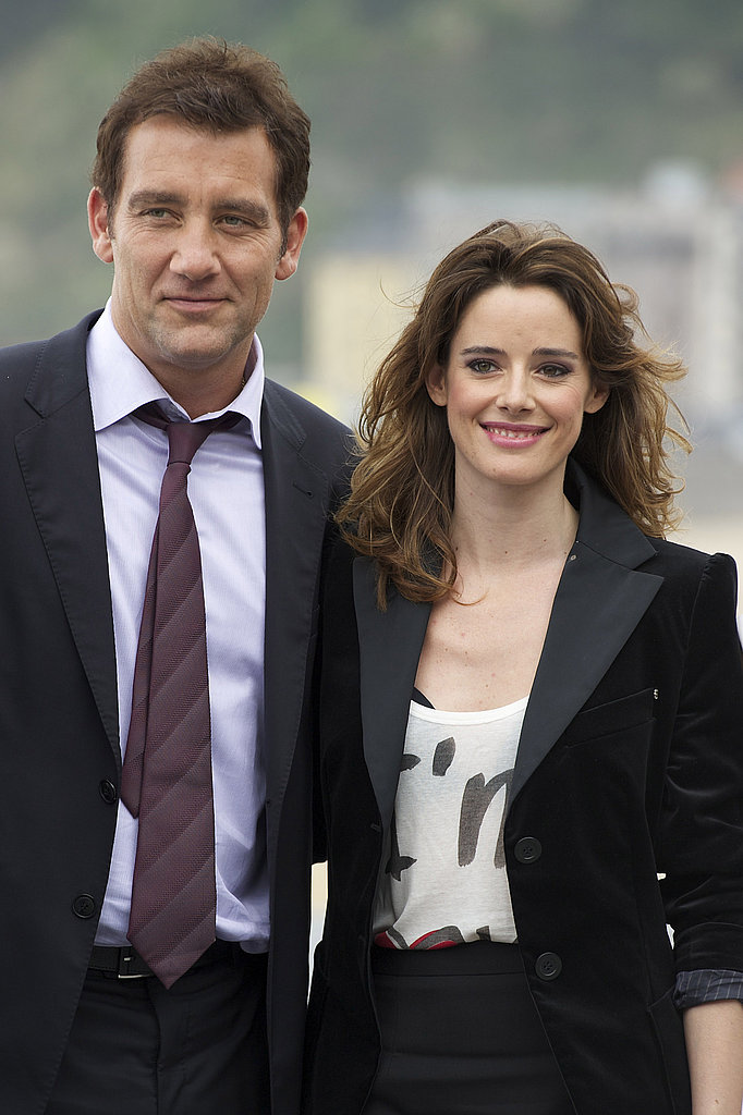 Clive Owen and Intruders costar Pilar Lopez de Ayala.