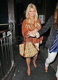 Jessica Simpson's night out in LA.
