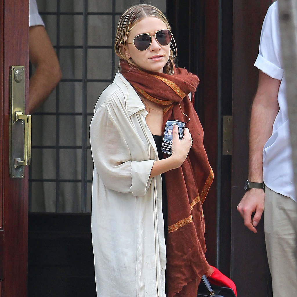 Mary-Kate Olsen at Greenwich Hotel.