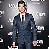 Taylor Lautner and Lily Collins at Abduction Debut Pictures