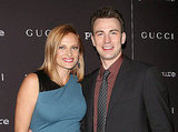 Chris Evans and Puncture costar Vinessa Shaw.