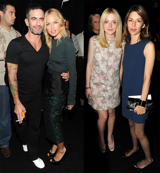 Marc Jacobs Wraps Up Fashion Week With Rachel, Dakota, and Sofia