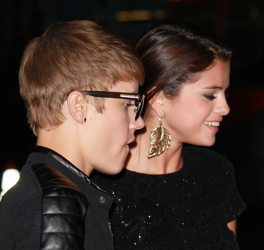Justin Bieber and Selena Gomez attended the premiere together.