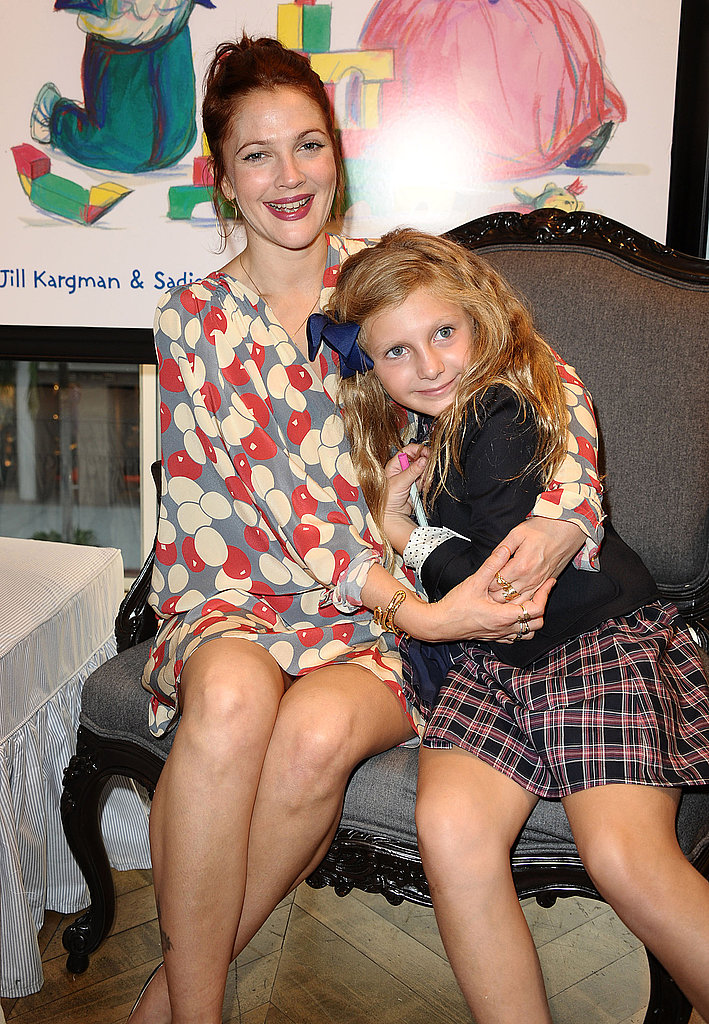 Drew Barrymore cozied up to Will Kopelman's niece.