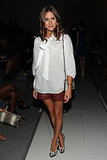 Olivia Palermo at the Tibi show.