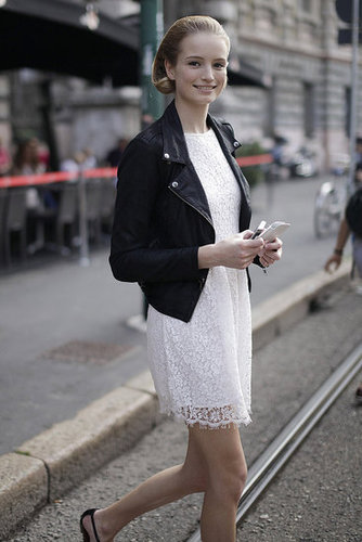 Spring 2012 Milan Fashion Week Street Style: Day 4