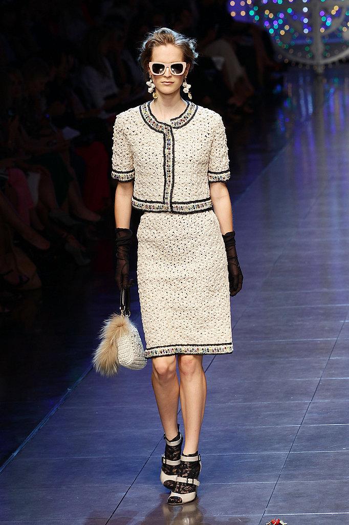 Dolce & Gabbana Spring 2012