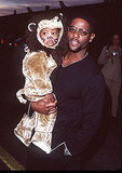 Blair Underwood and His Son