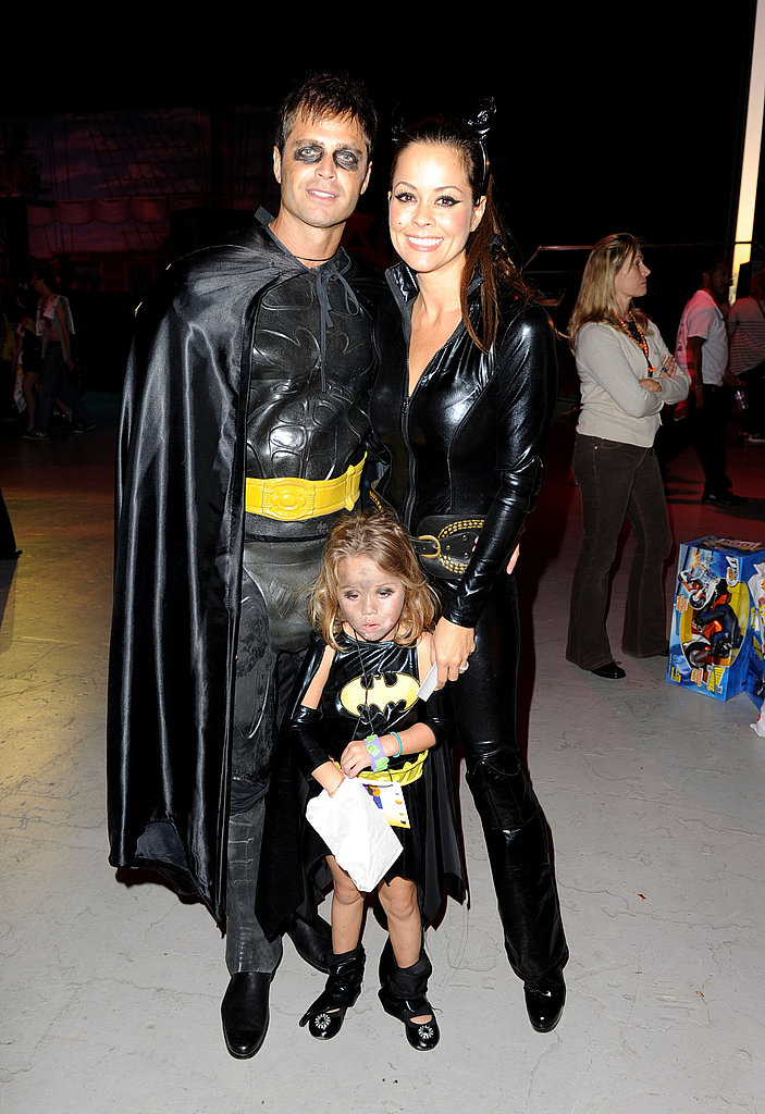 David Charvet, Brooke Burke, and Daughter Heaven Charvet
