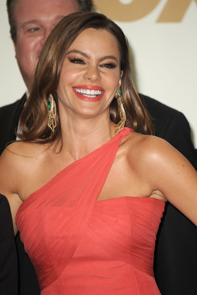 """I wear my underwear from Kmart from my Kmart line!"" — Sofia Vergara, answering a question in the press room about what she was wearing under her gown. She followed up with, ""My Kmart underwear too!"" when a reporter asker Ed O'Neill the same question."