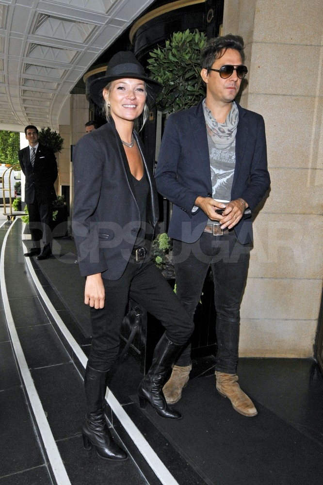Kate Moss and Jamie Hince at London's Dorchester.