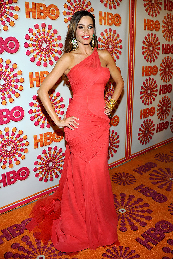 Sofia Vergara at an Emmys afterparty.