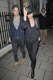 Kate Moss and Jamie Hince head home.