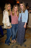 Nicole Richie and actress Emma Roberts stepped out to support Ashley Olsen and her line TEXTILE Elizabeth and James during an April 2011 viewing of the collection in Beverly Hills.