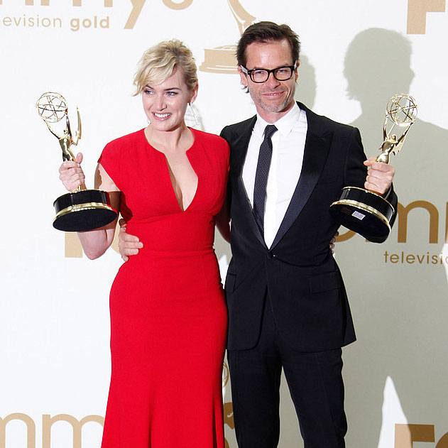 2011 Emmy Award Winners in the Press Room Including Kate Winslet, Modern Family, Mad Men