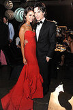 Ian Somerhalder and Nina Dobrev at the Emmys Governor's Ball.