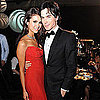 Ian Somerhalder and Nina Dobrev 2011 Emmys Governor's Ball Pictures