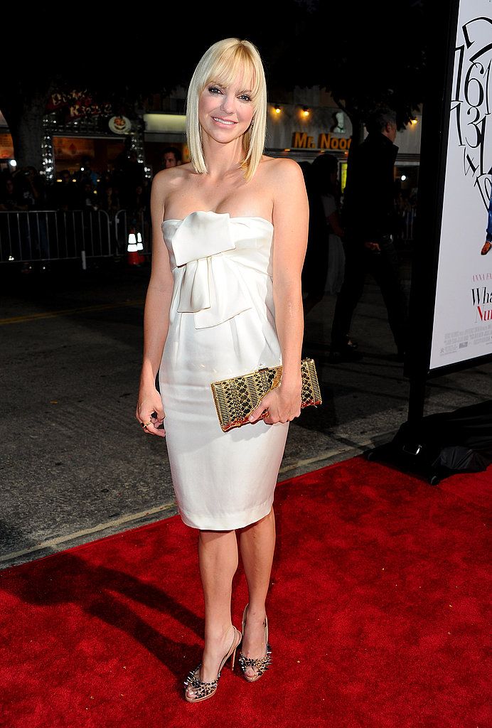 Anna Faris at the LA premiere of What's Your Number.