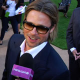 Brad Pitt at the Moneyball Premiere in Oakland [Video]